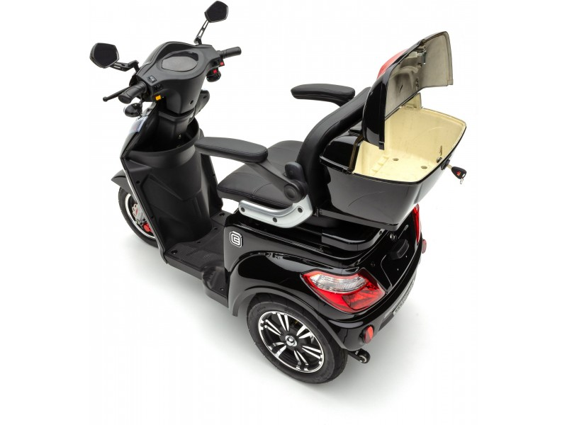 ECONELO Elektromobil »S1000«,  25 km/h - Schwarz