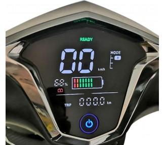 »HAWK 2.0« Elektroroller mit 2 Lithium-Akkus, 3000 Watt