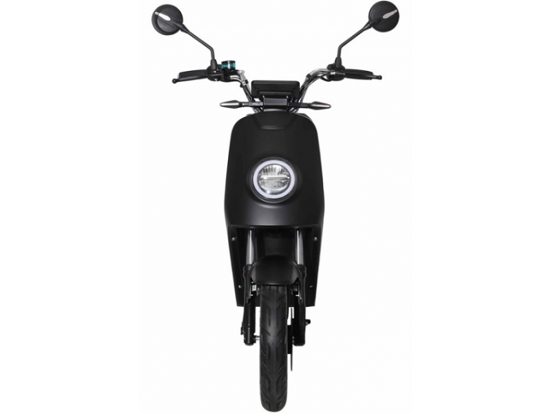 »Black« E-Scooter 25 km/h, Lithium, LED, ohne Führerschein