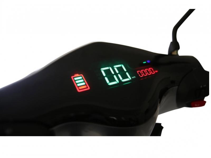 »Silver« E-Scooter 25 km/h, Lithium, LED, ohne Führerschein