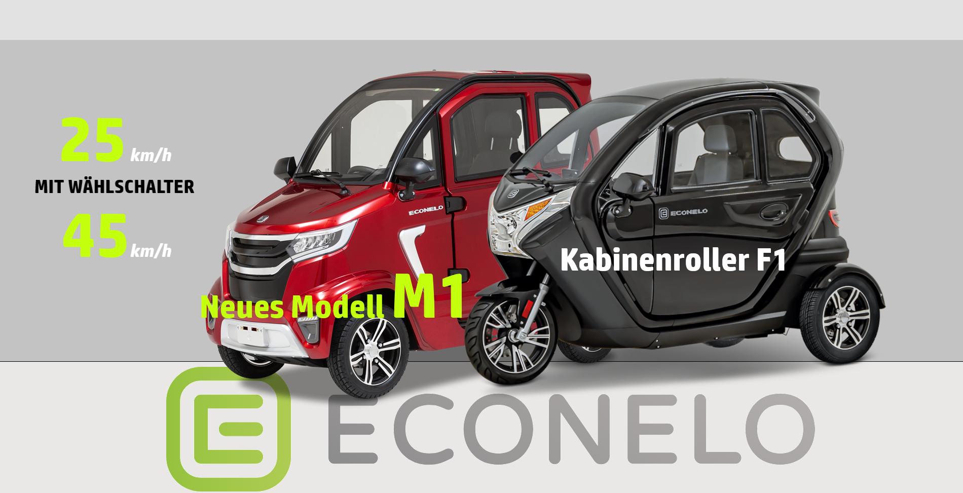 ECONELO mopedauto Elektromobile für Senioren
